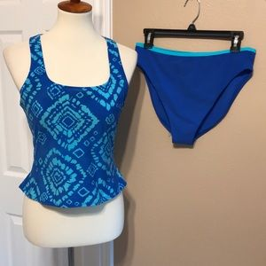 Nwot Victoria's Secret Tankini Swimsuit Large 💙